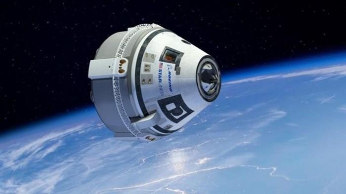 Космический корабль Starliner сбросили на Землю (видео)