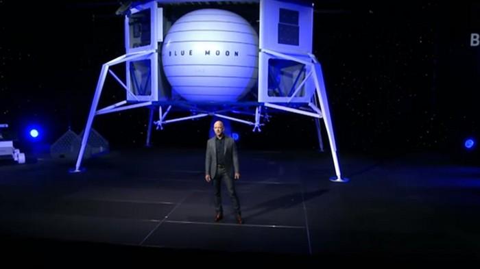 В США презентовали аппарат для освоения Луны (видео)