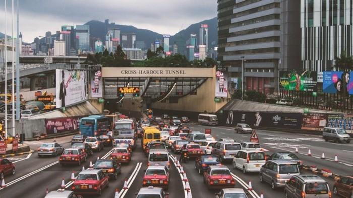 В Гонконге произошел пожар в двухэтажном рейсовом автобусе