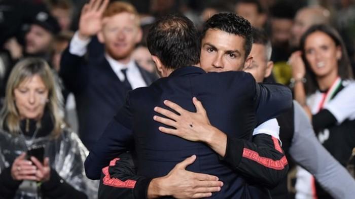 Криштиану Роналду нашел нового тренера для Ювентуса