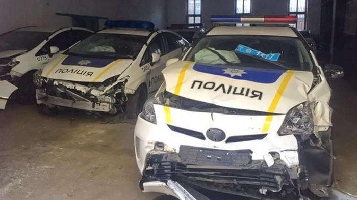 Полицейские разбили половину автопарка – МВД