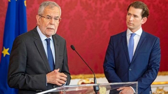 Досрочные выборы в Австрии пройдут в сентябре