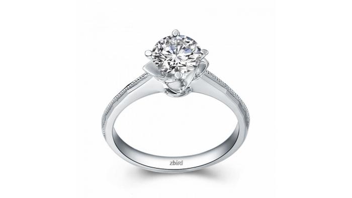 Кольца с бриллиантами от ювелирной фабрики ZBIRD