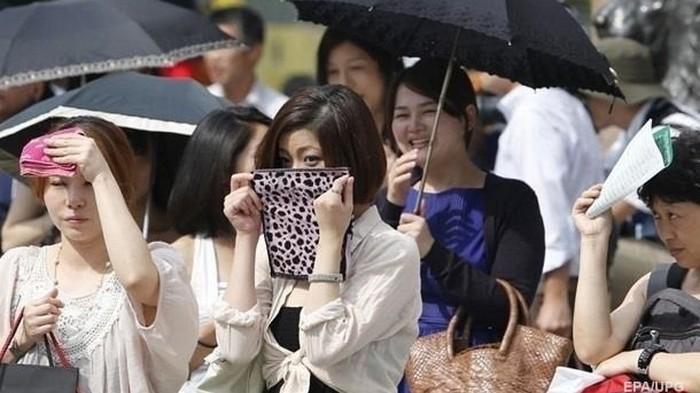 В Японии зафиксировали температурный рекорд