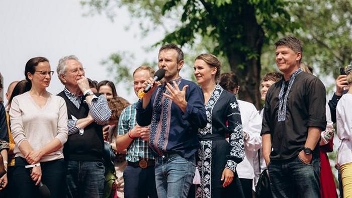 Вакарчук представил новых членов Голоса