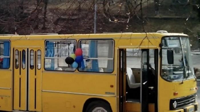 В Киеве похитили раритетный автобус