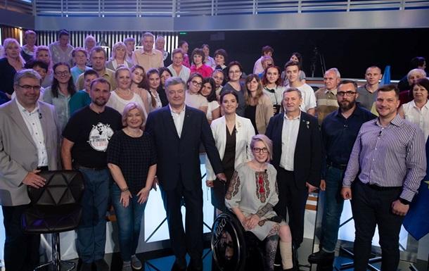 Порошенко допускает альянс с партией Зеленского