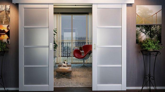 Двери раздвижные: преимущества и отличительные особенности