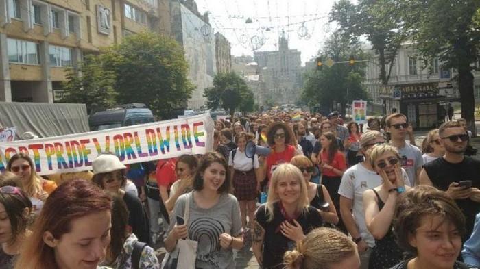 Евродепутатка пришла на Марш равенства: Горжусь защитой прав в Украине