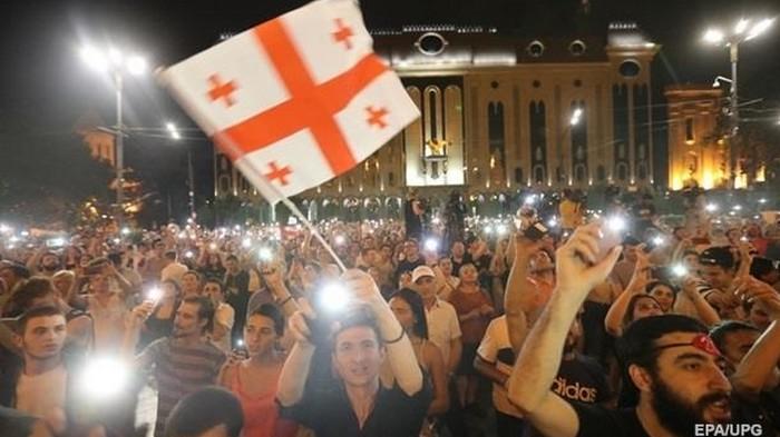 В Грузии анонсировали масштабную акцию протеста