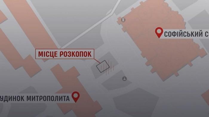 На территории Софии Киевской раскопали уникальный артефакт (видео)