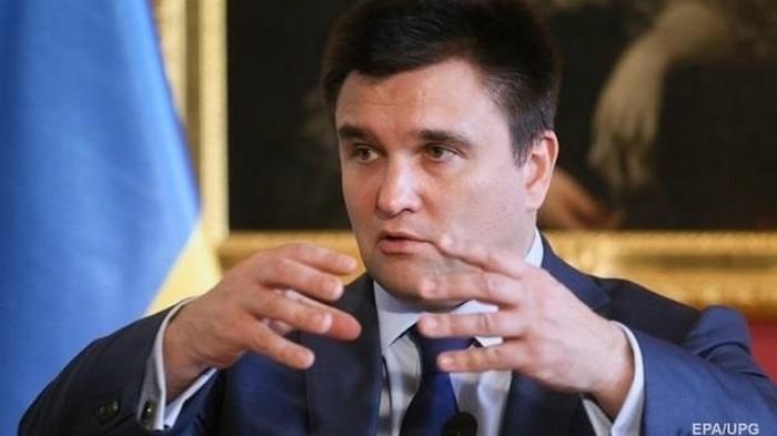 При Зеленском у Украины нет внешней политики - Климкин