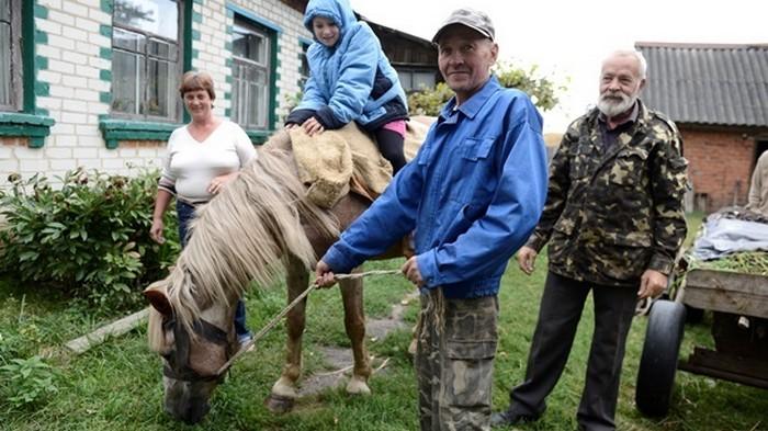 Сельское население Украины сократилось на треть за 10 лет