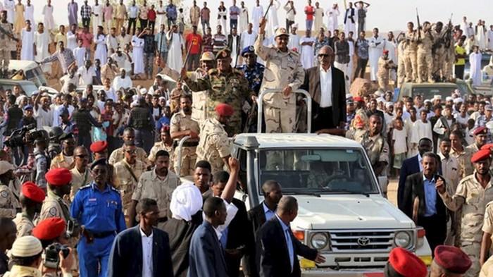 Власти Судана сообщили о попытке госпереворота