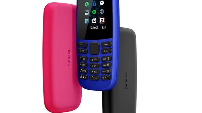 Nokia представила два новых кнопочных телефона (фото)