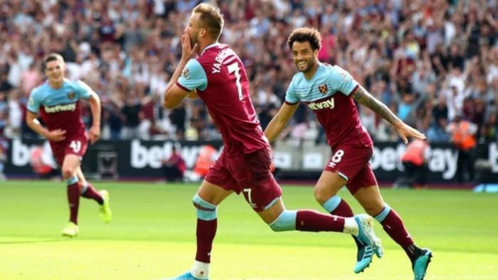 Ярмоленко забил шикарный гол за Вест Хэм в матче против Норвича