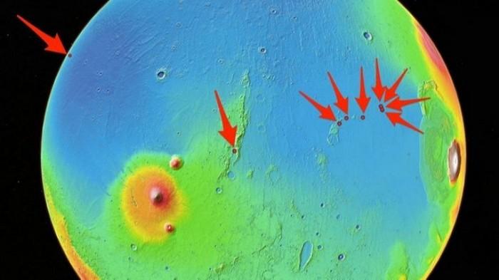 SpaceX выбрала места для высадки на Марсе