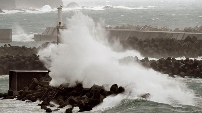 Из-за тайфуна в Японии пострадали 20 человек