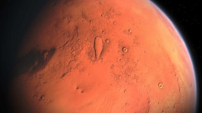 На Марсе заметили гигантскую ледяную лавину: фото