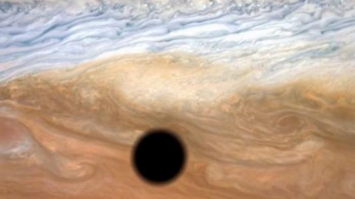 NASA показало необычное фото Юпитера