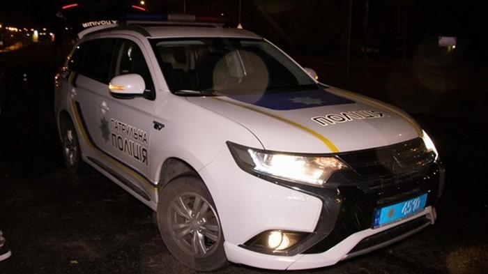 В Киеве иностранец обстрелял полицейских