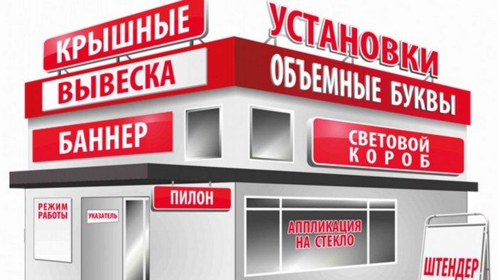 Виды наружной рекламы для крупного и среднего бизнеса