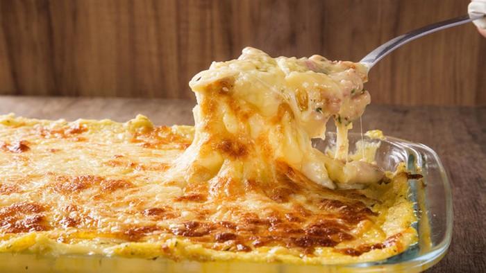 Рецепт картофельной запеканки с тыквой и беконом