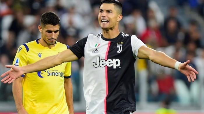Роналду приблизился к антирекорду в чемпионату Италии