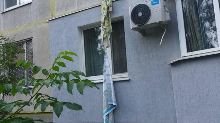 В Харькове погибла пенсионерка, спускаясь со второго этажа по простыням