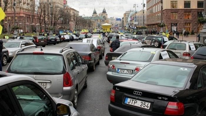 На авторынке Украины растет доля подержанных авто