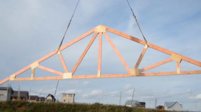 Фермы стропильные – особенности деревянных конструкций