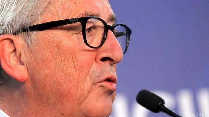 Юнкер расплакался на саммите ЕС