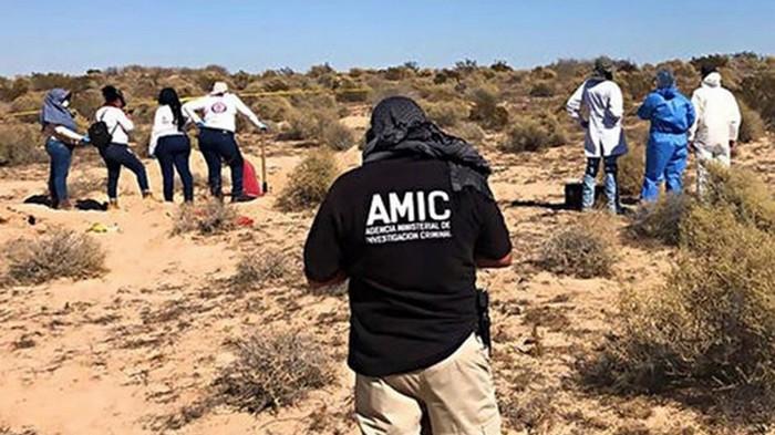 В Мексике на границе с США нашли 42 трупа