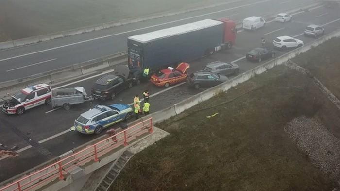 В масштабном ДТП в Германии пострадали 29 человек