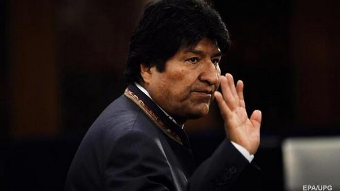 Моралес заявил о попытке его ареста