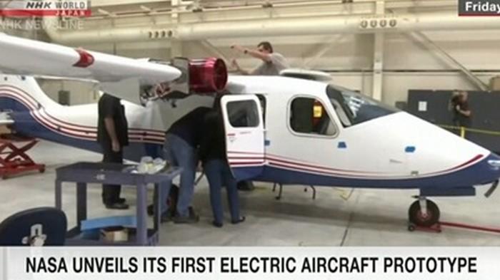 Создан первый полностью электрический самолет (видео)