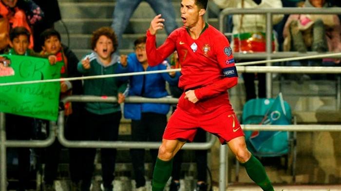 Роналду - о вероятном мировом рекорде: Я побью его