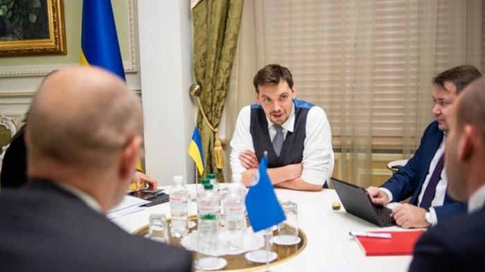 Премьер провел переговоры с МВФ