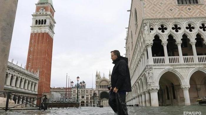 В Италии объявили сбор средств для пострадавшей от наводнения Венеции
