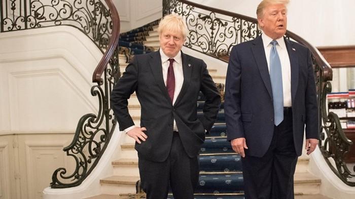 Премьер Британии не хочет светиться с Трампом