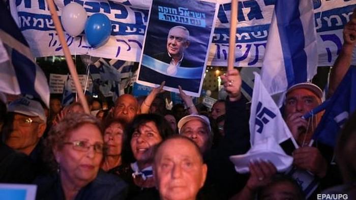 Демонстранты в Израиле требовали отставки Нетаньяху