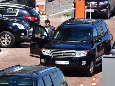 В Киеве у Саакашвили угнали внедорожник за 6 млн — СМИ