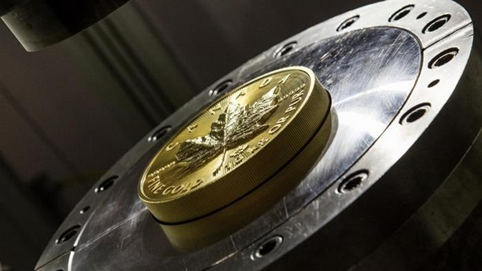В Канаде выпустили 10-килограммовую золотую монету (фото)