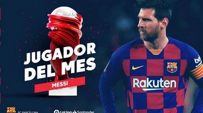 Месси - лучший игрок месяца в Ла Лиге