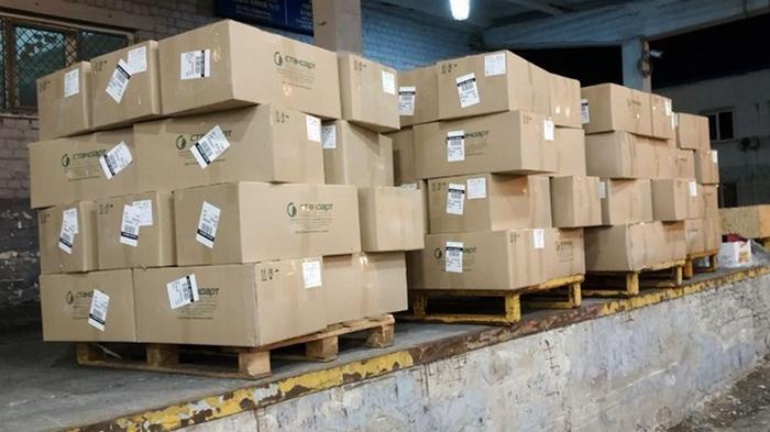 Из Украины пытались вывезти полторы тонны защитных масок