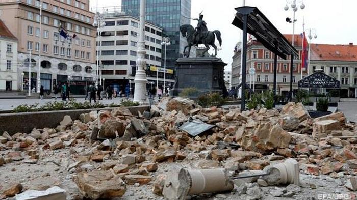 Хорватия: последствия землетрясения (фото)