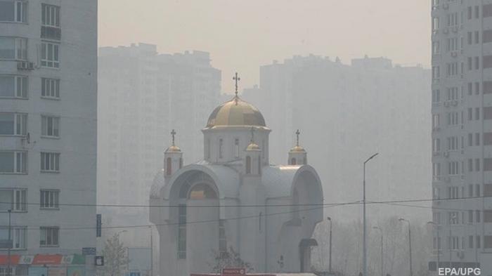 Воздух в Киеве начинает улучшаться