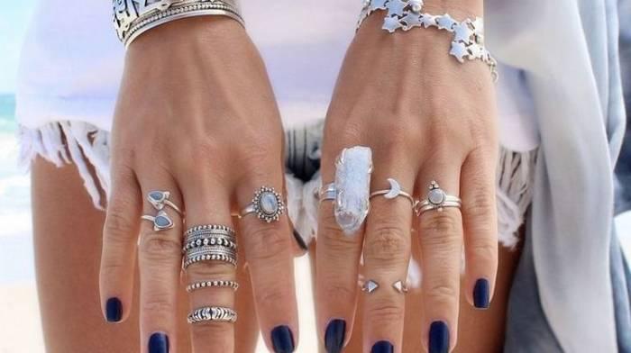 Серебряные кольца и другие украшения из металла — особенности и преимущества
