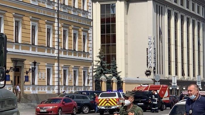 Захват банка в Киеве: СБУ объявила спецоперацию