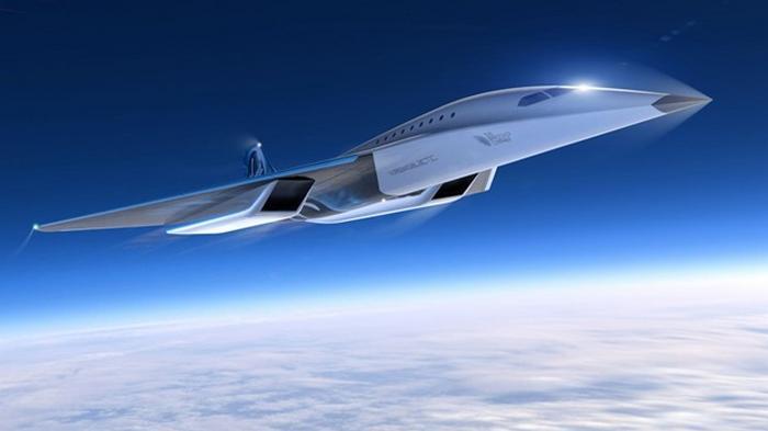 Представлен дизайн сверхзвукового пассажирского самолета